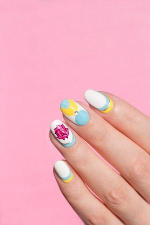 elegant nail art spring nails 1  sonailicious