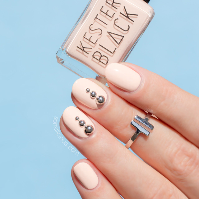 easy nail art, summer nail design, SoNailicious