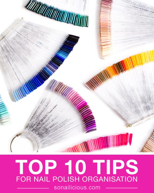 nail tips, nail polish storage