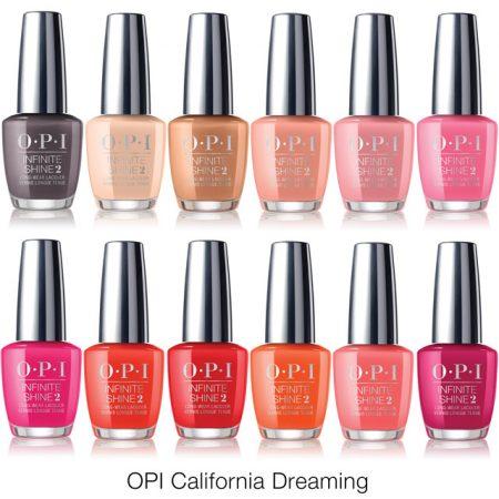 opi california dreaming summer 2017 nail polish colours