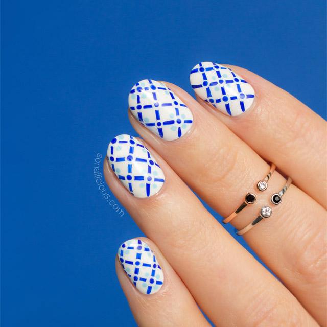 positano, summer nail art