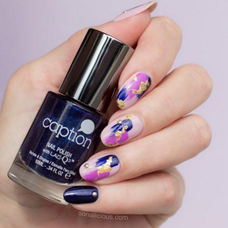 purple nail design, purple nails