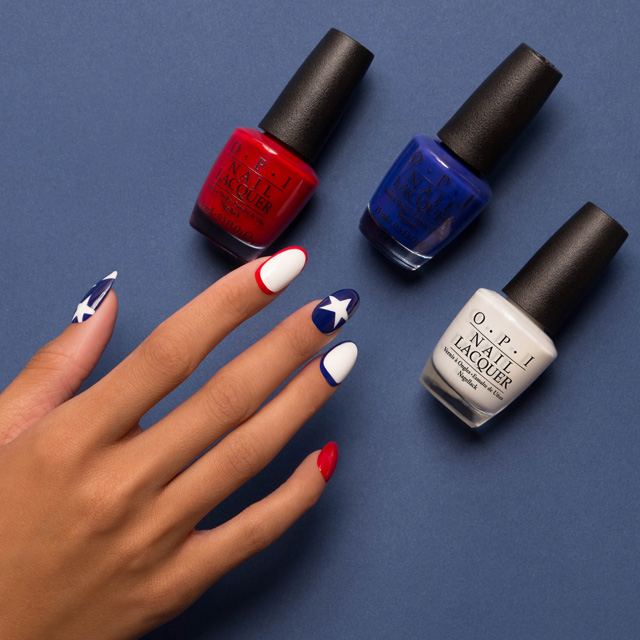 4th of july manicures