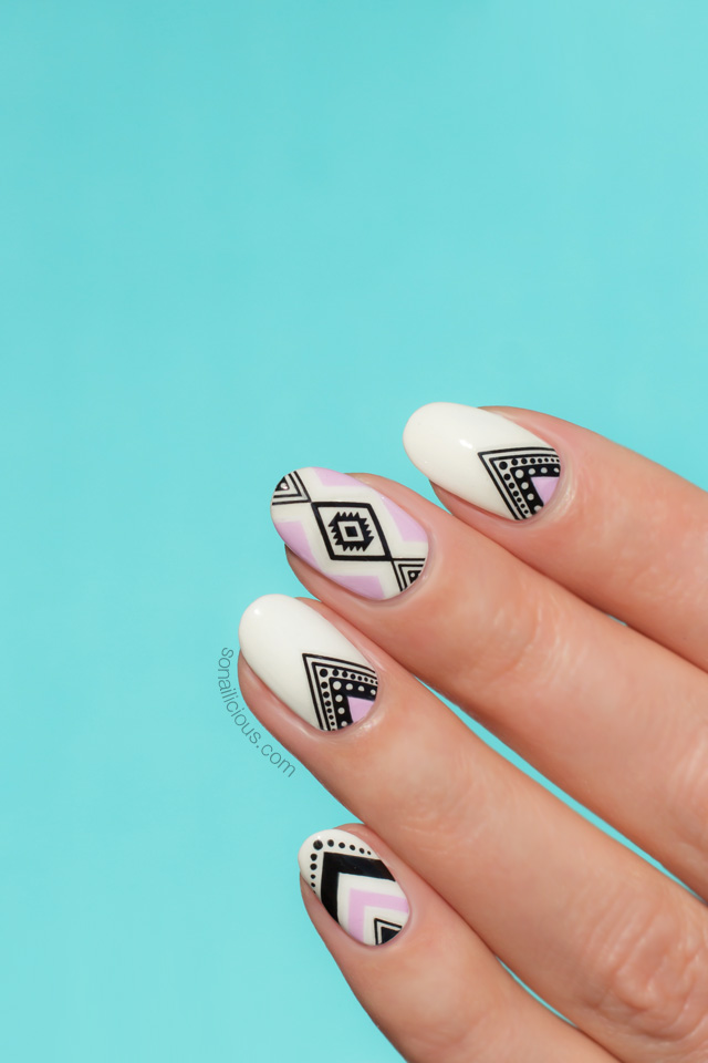 aztec nails how to