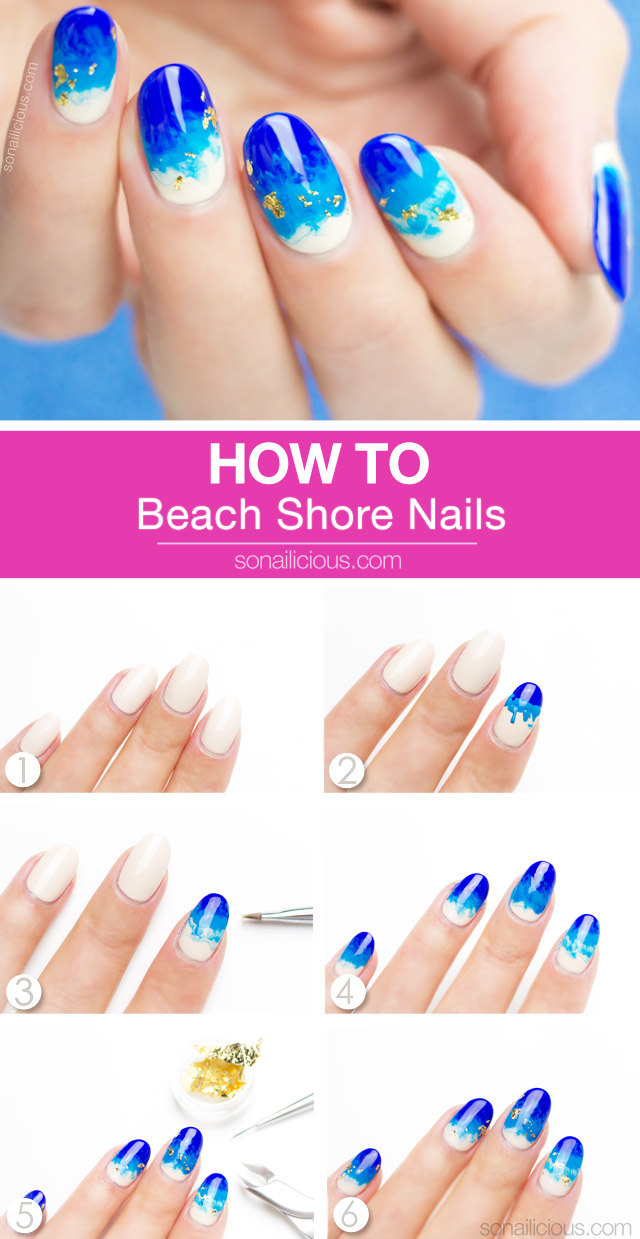 beach nails how to