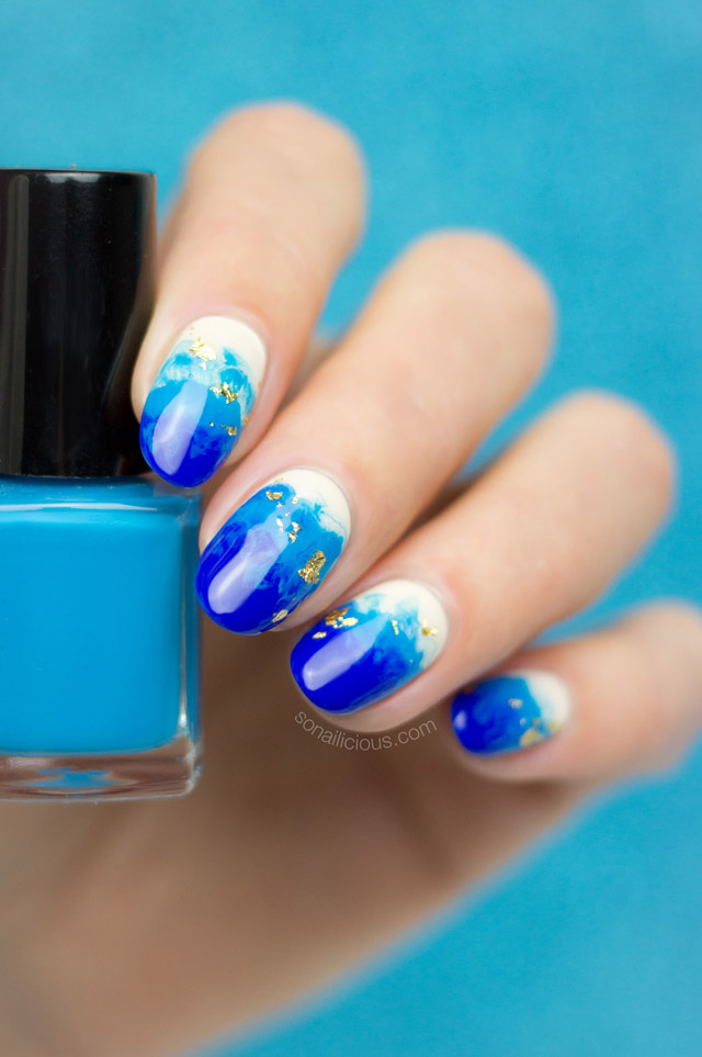 Easy Breezy Beach Nails How To