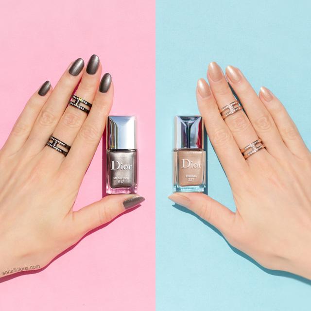 dior metallics Fall 2017 makeup collection, 1