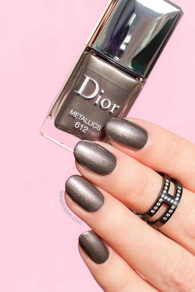 dior metallics swatch, dior nail polish