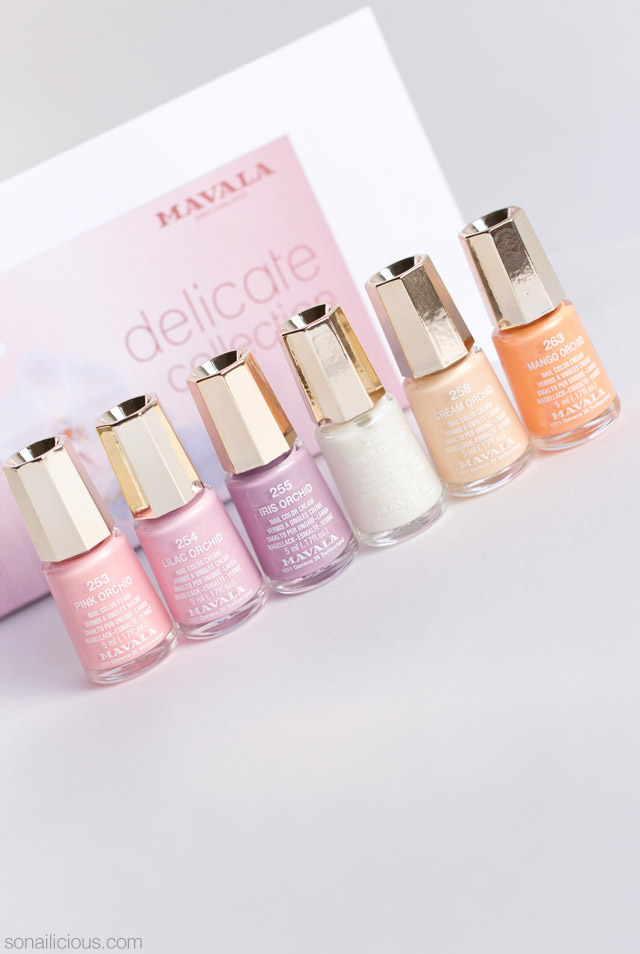 mavala delicate collection review, 1