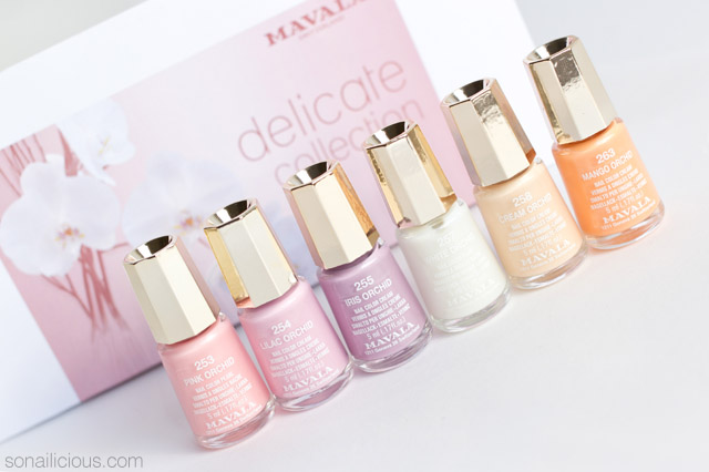 mavala delicate collection review