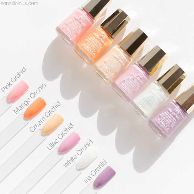 Nail Polish Swatch Book: Mavala Nail Polish Swatches, Review