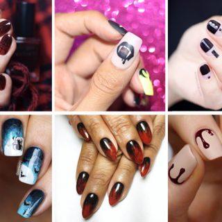 10 cool halloween nail designs