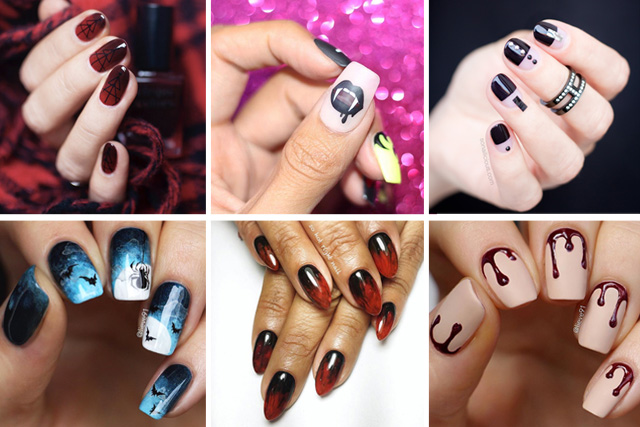 10 cool halloween nail designs