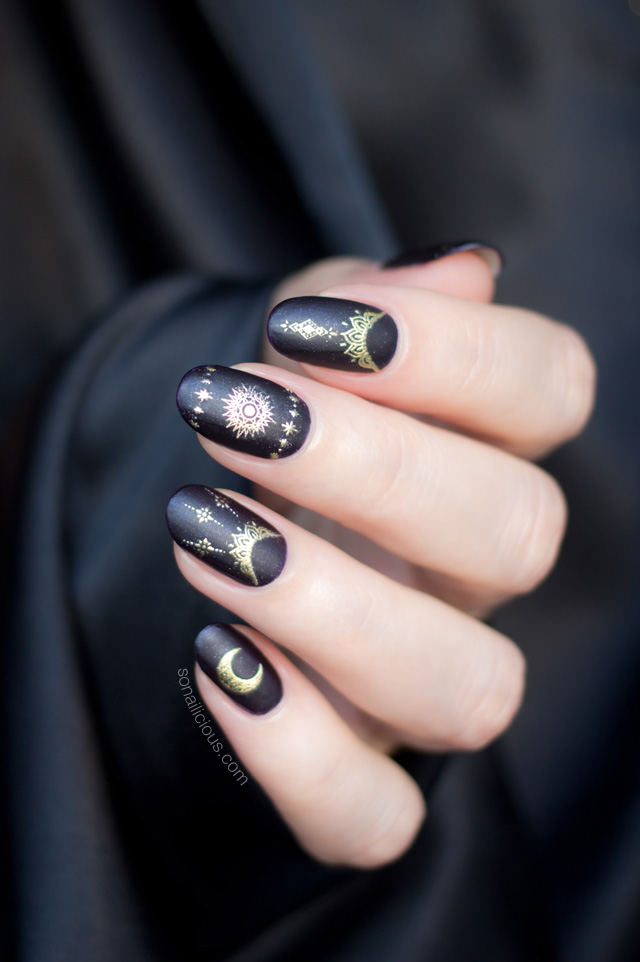 black magic nails