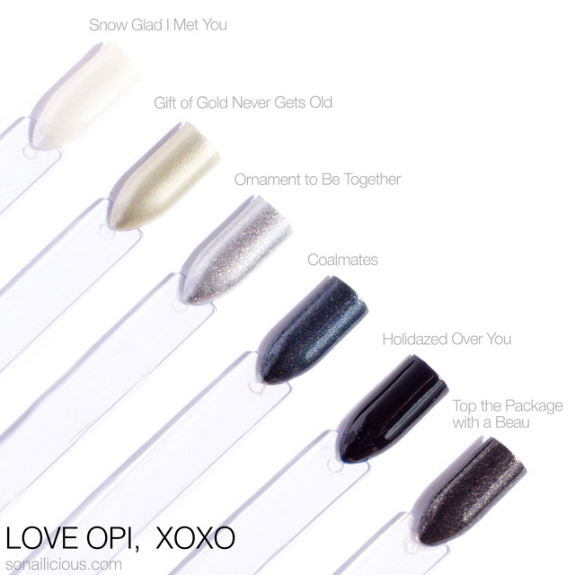 Love OPI XOXO - cool colours