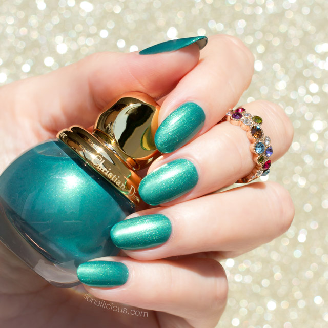 diorific emerald swatch