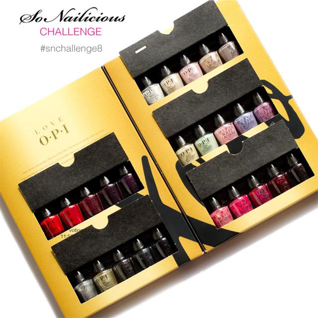 christmas nail art challenge, love opi gift set win, 1
