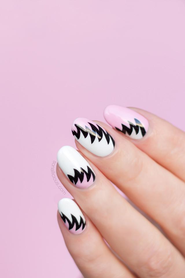 nail art trend, 80s nail art
