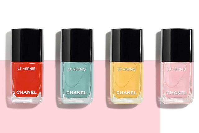 Chanel Spring 2018 Neapolis nail polish