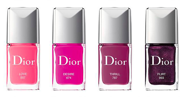 Dior spring 2018 nail polish