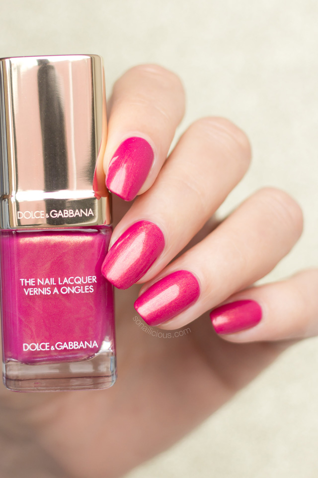 dolce gabbana royal pink swatches
