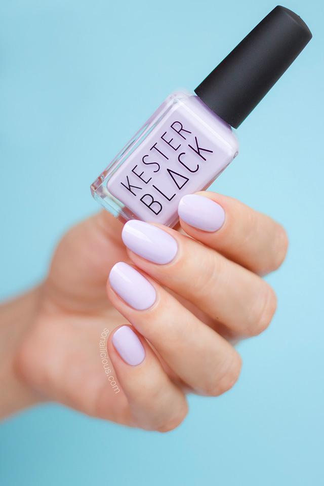 kester black luna, purple nails