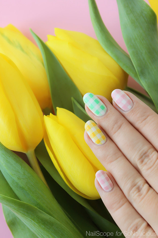 pastel easter nails