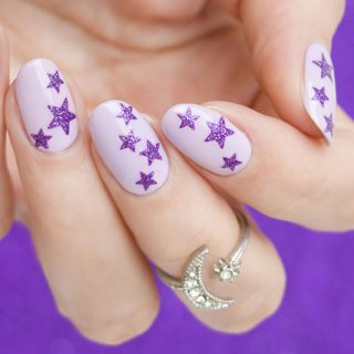 starry nails how to