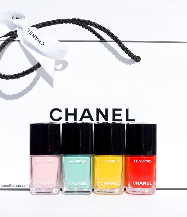 chanel spring 2018 nail polish colours