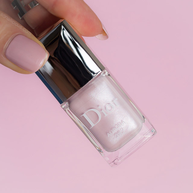 dior aurora, wedding nail polish