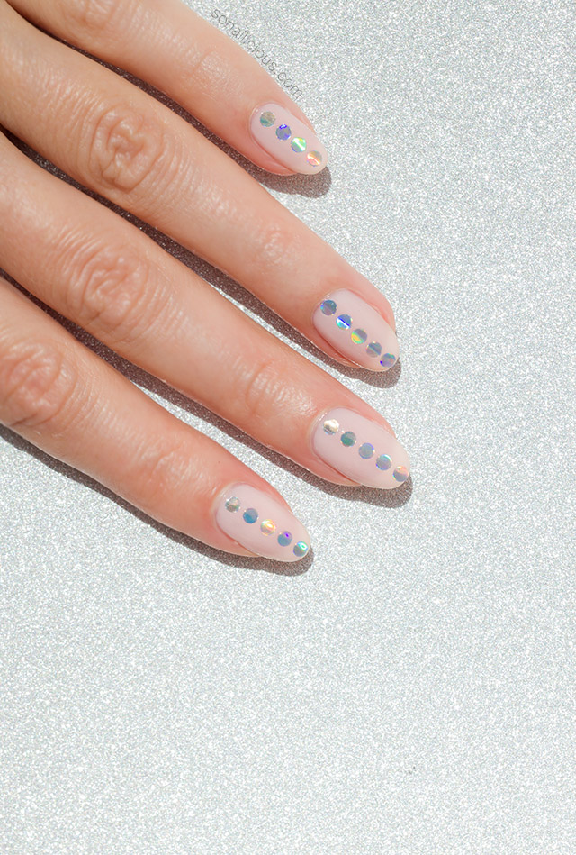 holographic nail design