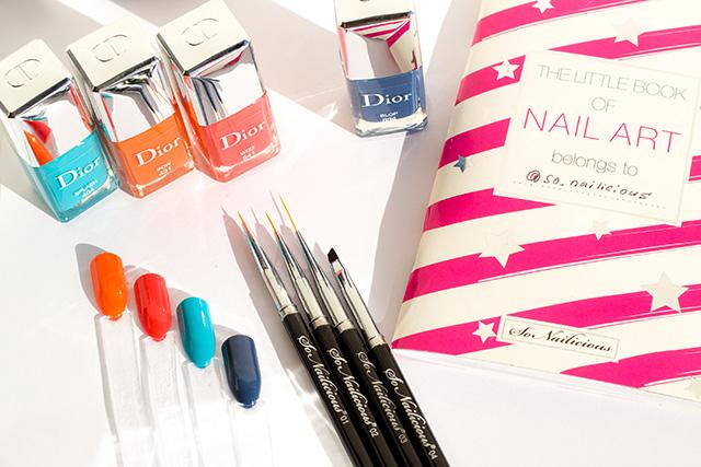 dior wizz dior pow nail polish swatches