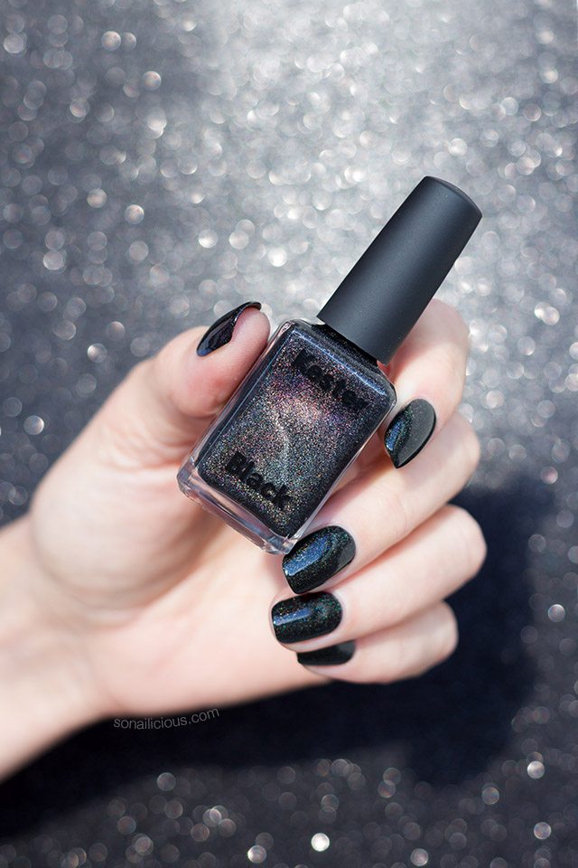 Best Black Holographic Nail Polish Black Diamonds