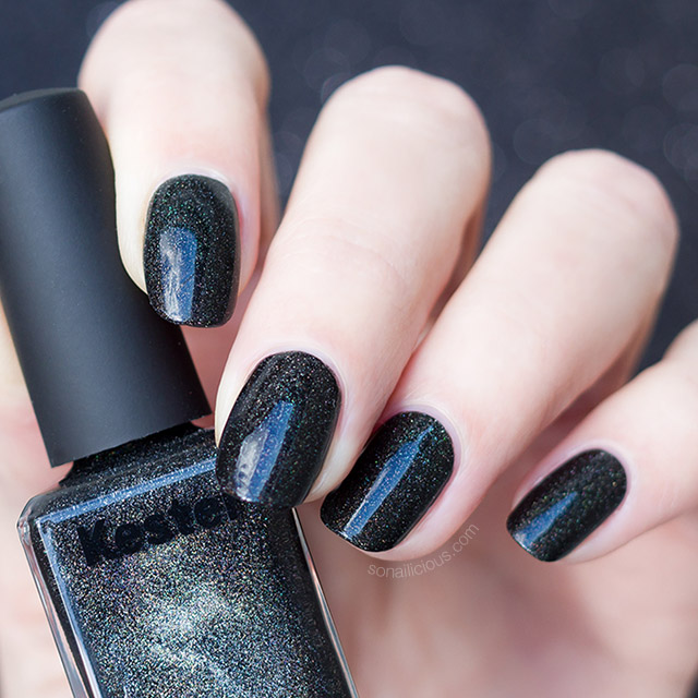 black holographic polish