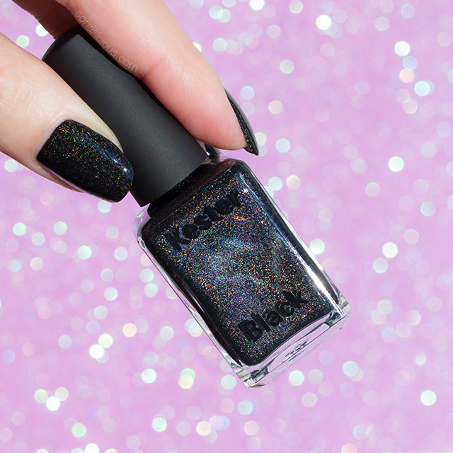 the best black holographic nail polish