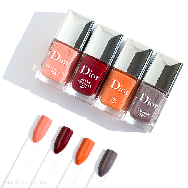 Dior En Diable Fall 2018 Swatches Dupes Review