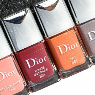 Dior Dior en Diable Fall 2018 nail polish, 10