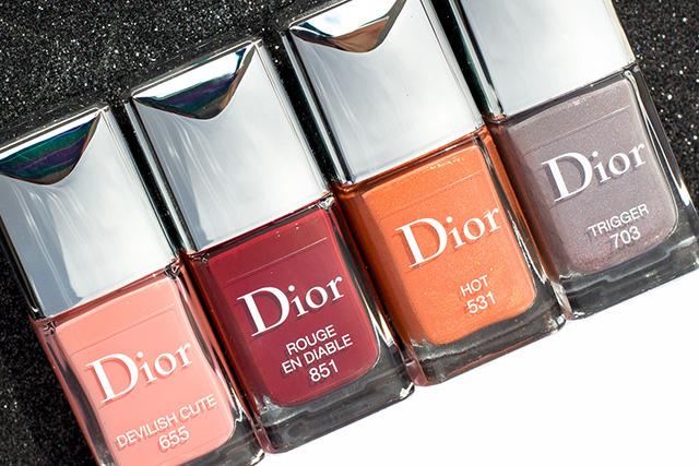 Dior Dior en Diable Fall 2018 nail polish, 10