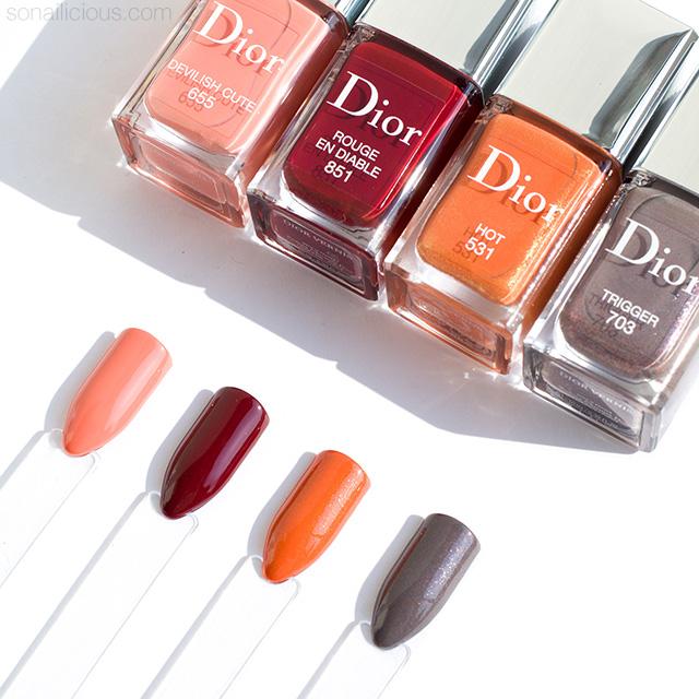 Dior Dior en Diable Fall 2018 nail polish