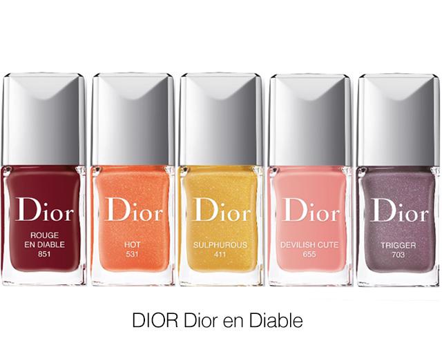 Dior Dior en Diable nail polish