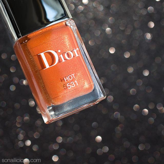 Dior hot nail polish