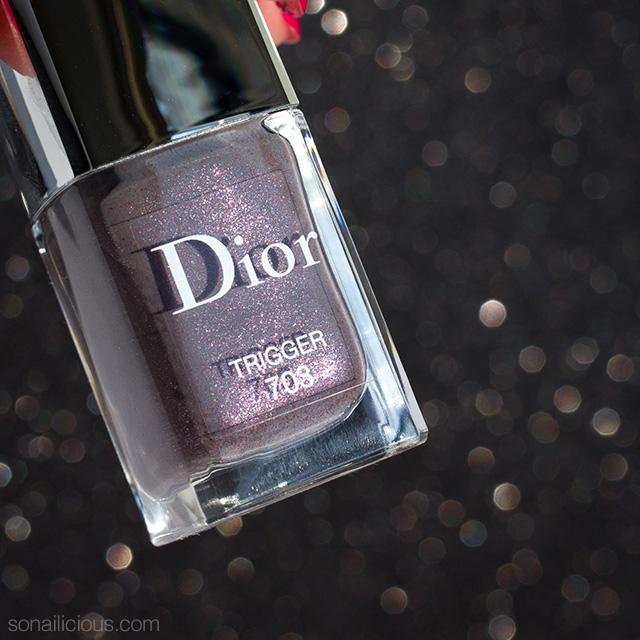 Dior trigger nail polish