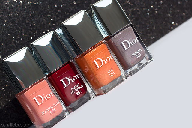 dior fall nail polish