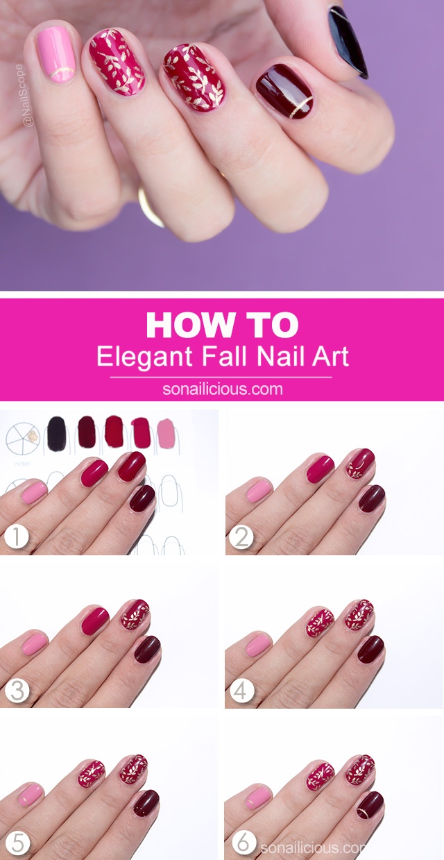 fall nails how to