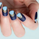 Tutorial: Embellished Reverse French Manicure