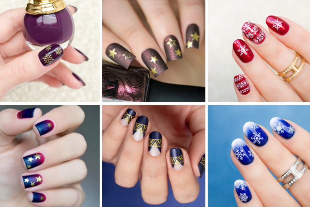 12 Christmas Nail art ideas