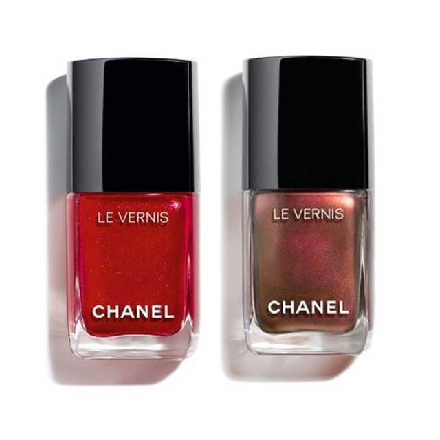 Chanel Christmas 2018 nail polish