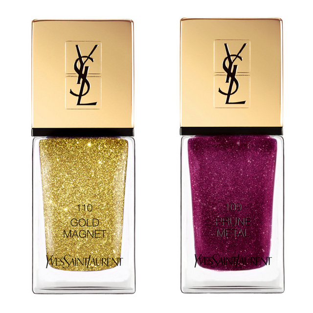 YSL Gold Attraction Christmas nail polishes