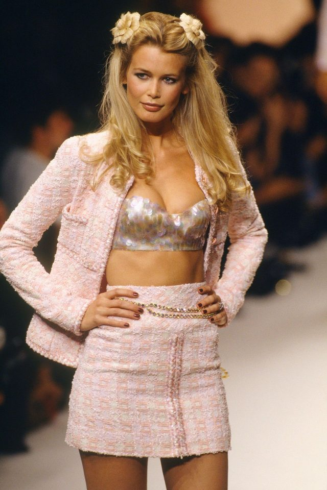 chanel ready to wear 1995 claudia