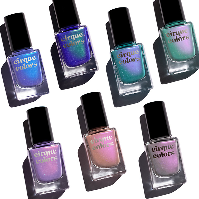 cirque colors dreamscape nail polishes